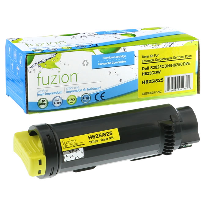 FUZION Brand - Dell 3P7C4 High Yield Toner - Yellow