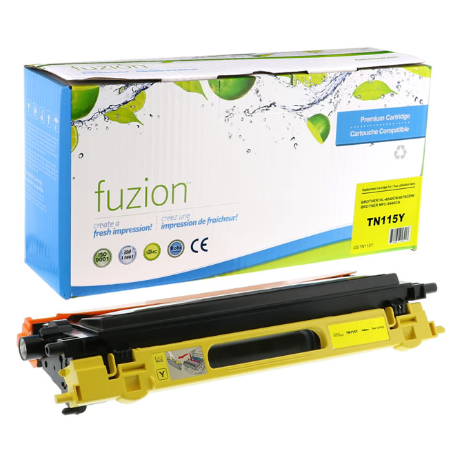 FUZION Brand - Brother HL4040 Toner - Yellow