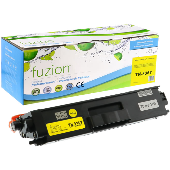 FUZION Brand - Brother HL-L8350 Toner - Yellow